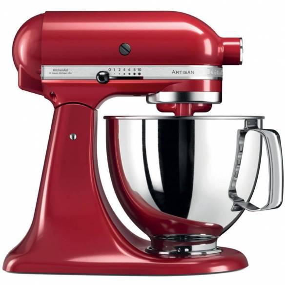 Robot Kitchenaid Artisan Rojo 5KSM125EER