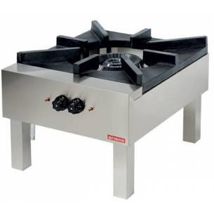 Paellero Industrial a Gas 18 kw de 600 x700 x450h mm ESTAMBUL SPS706N