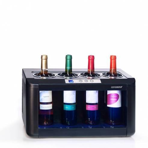 Enfriador de vino Cavanova OW004 para sobremesa (4 botellas)-Z026OW004