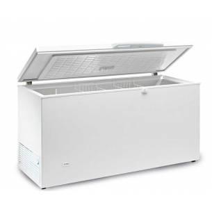 Congelador horizontal 660 litros tapa ciega abatible SIF 700 INOX