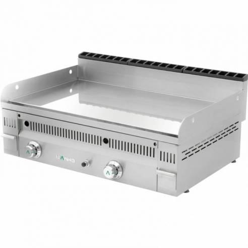 Plancha fry-top de gas lisa cromo duro PC-90 N Mainho