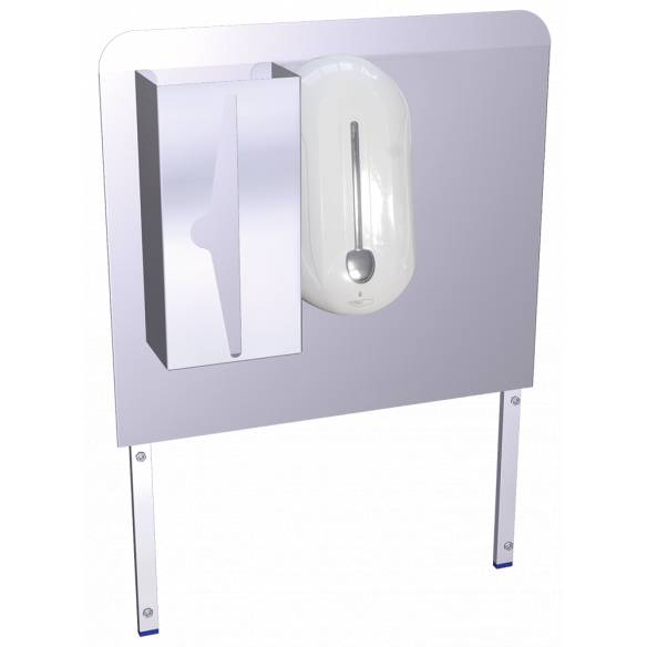 Lavamanos registrable portátil autónomo