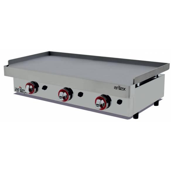 Plancha a Gas de Acero Laminado 6 mm. Arilex 100PGL (100x40 cm)