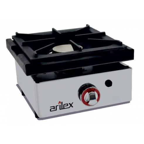 Cocina gas industrial 1 fuego Arilex 40CG - 40x40 cm