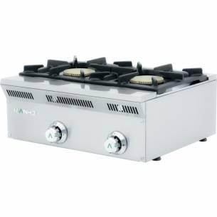 Cocina de gas serie eco 2 fuegos ELE-62G Mainho
