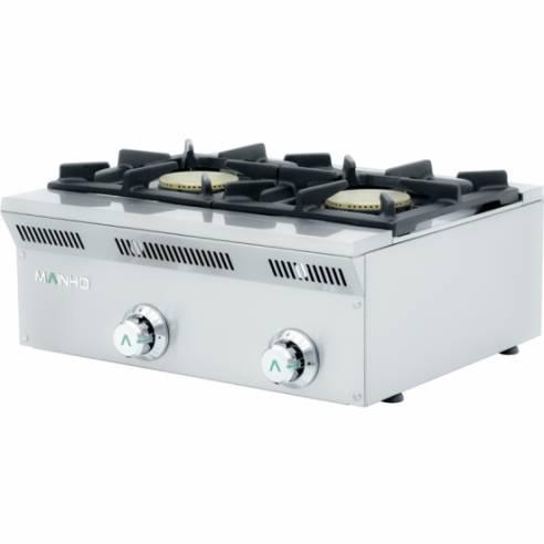 Cocina de gas serie eco 2 fuegos ELE-62G Mainho-Z010ELE-62G