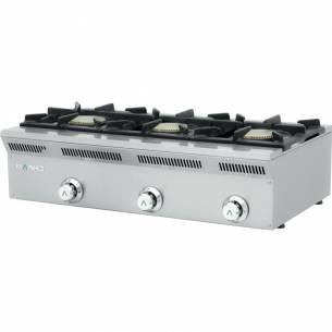Cocina de gas serie eco 3 fuegos ELE-93G Mainho