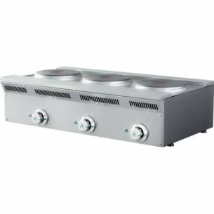 Cocina eléctrica serie eco 3 placas ELE-93EM Mainho