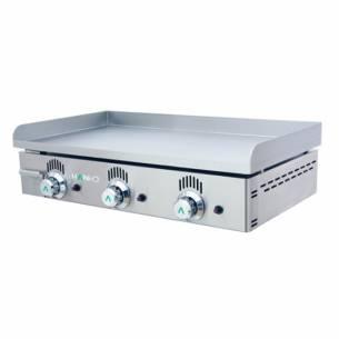 Plancha de gas Mainho NS-80 profesional acero rectificado-Z010NS-80