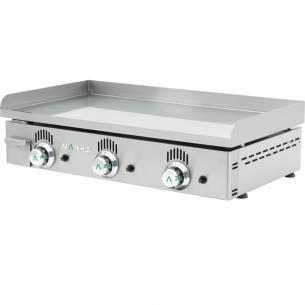 Plancha de gas NC-80 Cromo duro (Lisa) Mainho-Z010NC-80