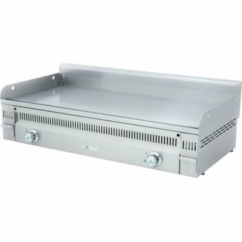 Plancha fry-top eléctrica Mainho PL-90ET Euro Snack (dos zonas cocción)
