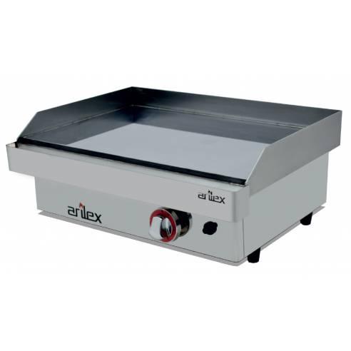 Plancha a Gas de Acero Rectificado 15 mm. Arilex 60PGR (60x40 cm)