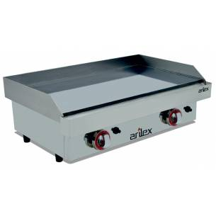 Plancha a Gas Cromo Duro 15 mm. Arilex 80PGC (80x40 cm)-Z08580PGC