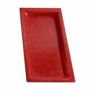 Cubeta gastronorm GN 1/3 40mm. Vidrio Transparente