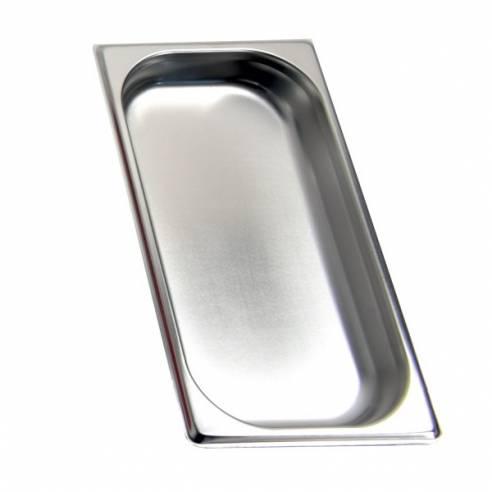 Cubeta gastronorm GN 1/3 40mm. Acero Inoxidable