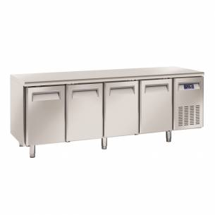Bajomostrador conservación Gastronorm 4 puertas QR 4100 / 4200