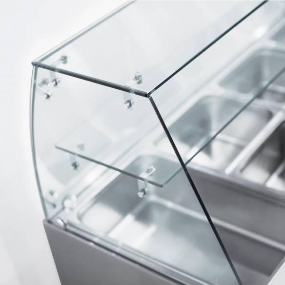 Bajomostrador refrigerado preparación de ensaladas de 3 puertas CRQ 93A