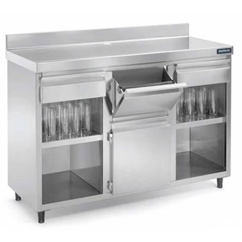 Mueble cafetero Edenox MAC-1560 1500X600 mm. 1 Estante