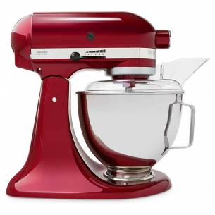 Robot Amasadora Kitchenaid Classic 4,28L Rojo Granada 5KSM45EGD