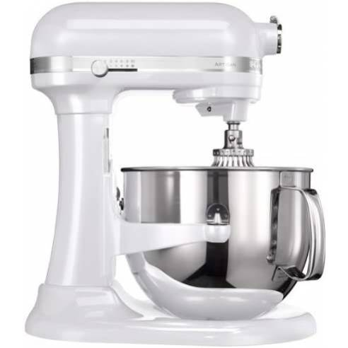Robot Kitchenaid Artisan  500W 6.9L Blanco Perla 5KSM7580XEFP