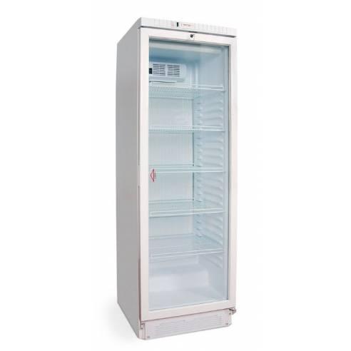 Armario expositor refrigerado 1 puerta cristal Eurofred BFS 38/1P