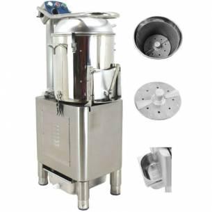 Peladora de patatas de 15 kg modelo HPL-15