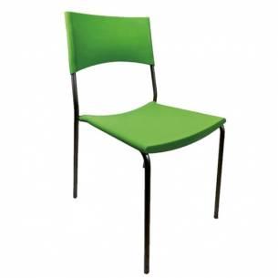 Silla hostelería Apilable BALI Verde-Z0526666