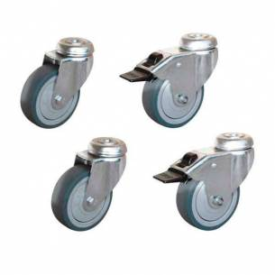 Suplemento ruedas para soporte horno FM