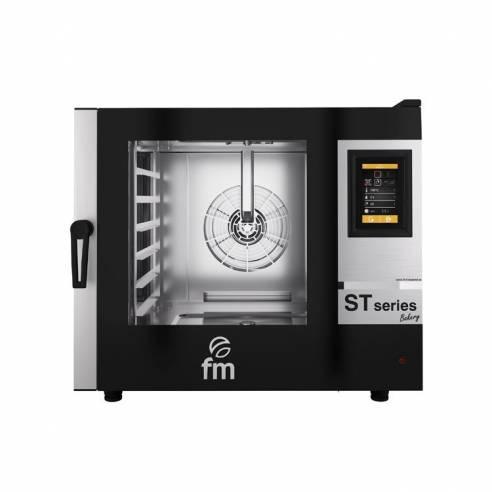 Horno Mixto Electrico Panadería FM ST BAKERY STB 6/86 V7 - 6 Bandejas 800x600 mm. o 12 600x400 mm.-Z045710502