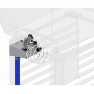 Kit 1º Instalación/desagüe para hornos mixtos FM-Z045710434