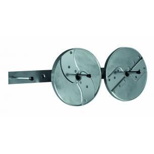 Porta discos mural inox  Ref. 101230 para  Robot-Coupe