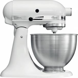 Robot Amasadora Kitchenaid Classic 4,28L Blanco 5K45SSEWH