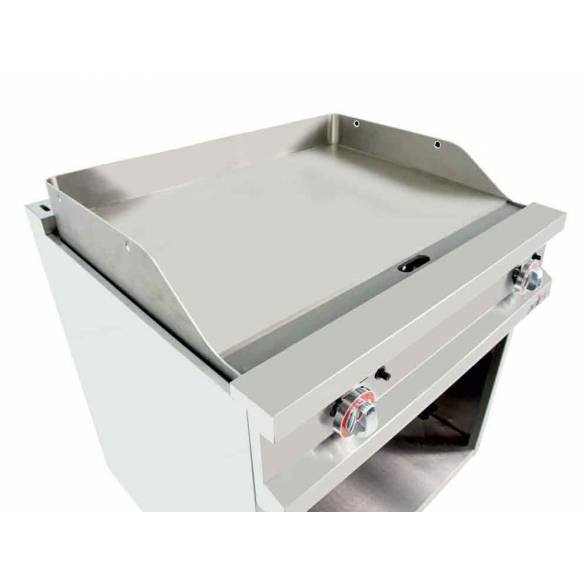 Frytop a Gas Acero rectificado Arilex EASY 80FRYGR70 11,4 Kw 800 x 750 x 900