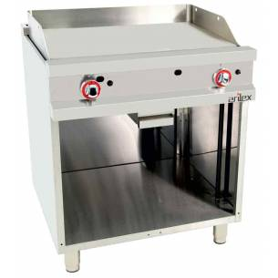 Frytop a Gas Acero rectificado Arilex EASY 80FRYGR70 11,4 Kw 800 x 750 x 900-Z08580FRYGR70