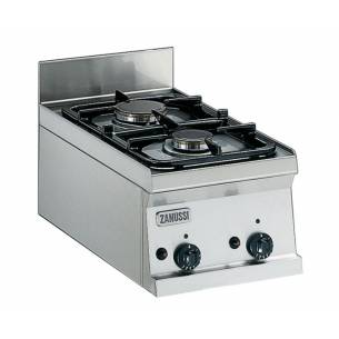 Cocina profesional a gas 2 quemadores ZANUSSI SCG350-Z063285759
