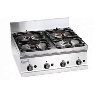 Cocina profesional a gas 4 quemadores ZANUSSI SCG700-Z063285760