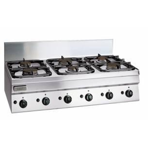 Cocina profesional a gas 6 quemadores ZANUSSI SCG1050-Z063285761
