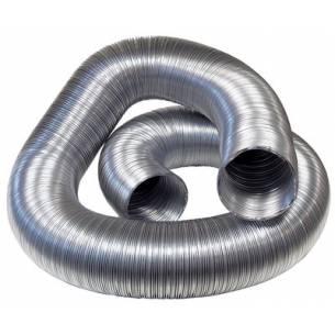 Tubo Semiflexible aluminio para salida de humos (Ø100-125-150-175-200-250-300-355-400 mm)-Z025CA07