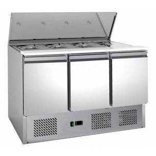 Mostrador de ensaladas refrigerado 368L S903 FC
