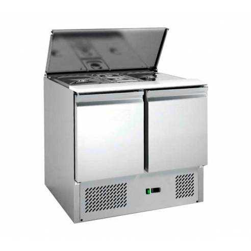 Mostrador de ensaladas refrigerado 240L S900FC