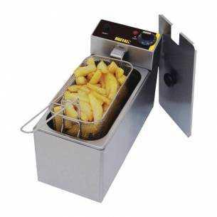 Freidora individual para sobremesa Buffalo 3L