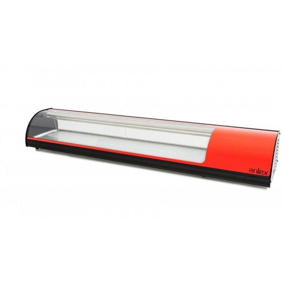 Vitrina sobremostrador refrigerada para sushi ARILEX VT SUSHI