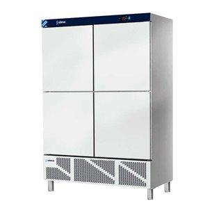 Armario frigorífico industrial acero inox Edenox APS-1404 - 4 medias puertas