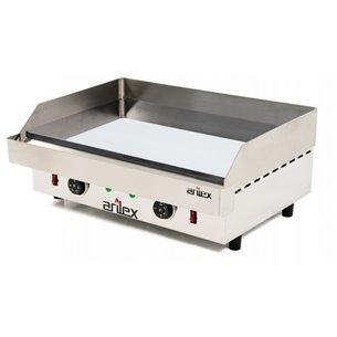 Plancha eléctrica ARILEX en acero de 15 mm con baño de cromocon medidas 610x457x240h mm 60PEC