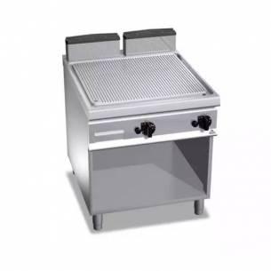 Plancha fry-top BERTOS a gas, placa acanalada G9FR8M-2-Z005G9FR8M-2