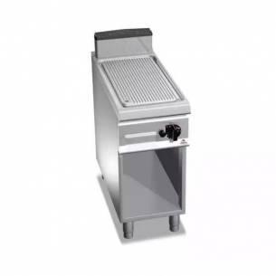 Plancha fry-top BERTOS a gas G9FR4M acanalada-Z005G9FR4M