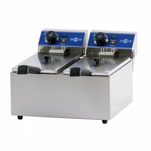 Freidora Iindustrial Eléctrica de doble cuba FRY 8+8-Z0137631015