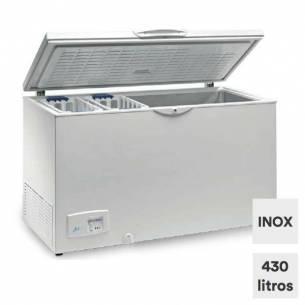 Congelador horizontal 430 litros tapa ciega abatible HC 570 INOX