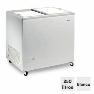 Congelador horizontal 250 litros tapa ciega corredera ICE 300 NTOS-Z0150ITI0085