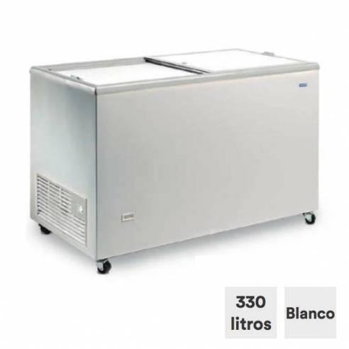 Congelador horizontal 330 litros tapa ciega corredera ICE 400 NTOS-Z0150ITI0090
